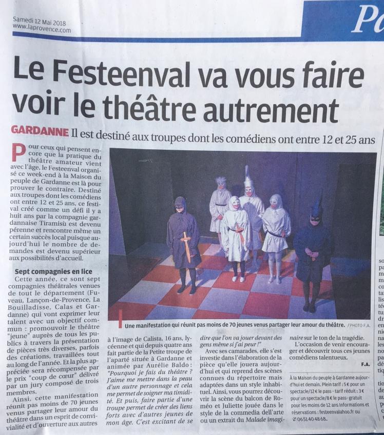 La Provence - 12.05.18